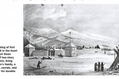Fort Owen, 1865; Peter Toft